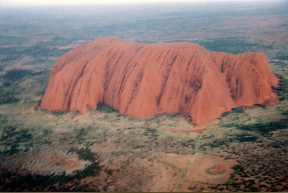 Uluru, in the heart of Australia, is the heart chakra of this planet.