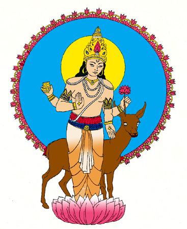 Chandra - the Moon God