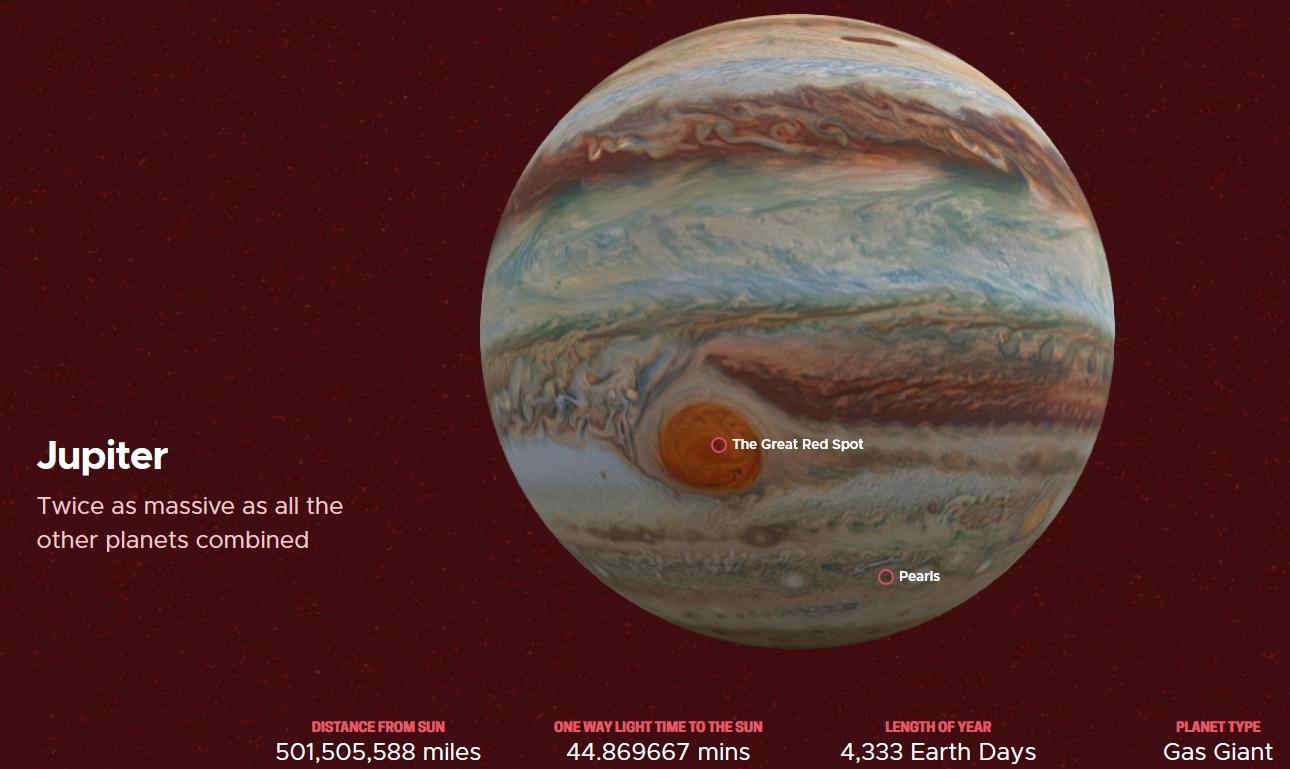 Jupiter as Gas Giant