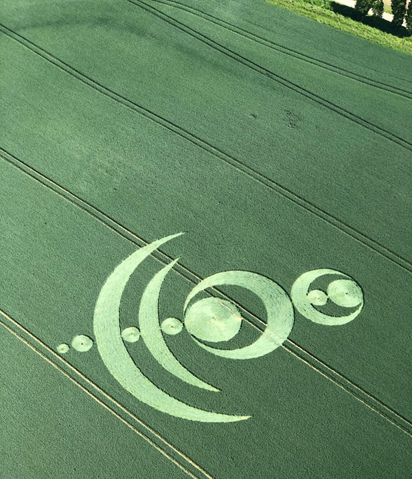 Crop Circle in France