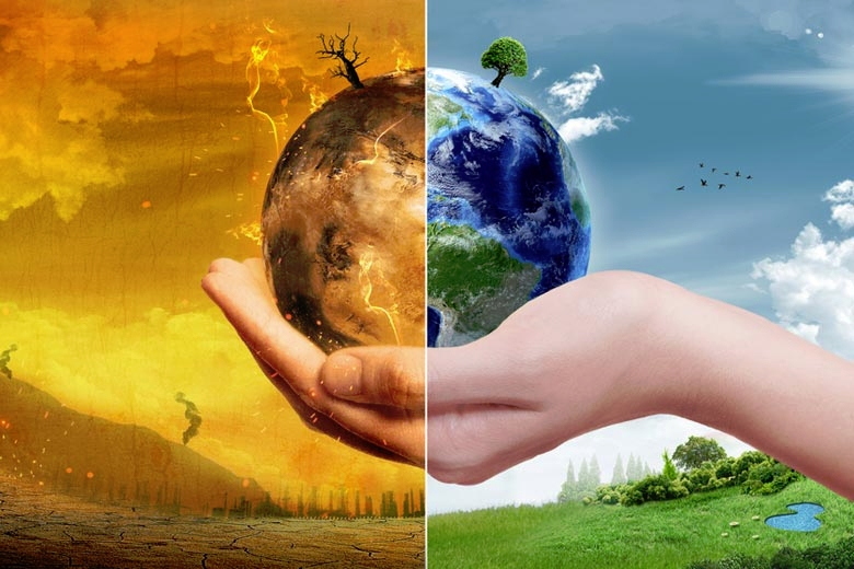 Climate Change and the Earth