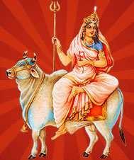 Goddess Sailiputra - daughter of the Himalayas