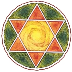 satkona - six pointed star