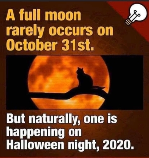 Halloween Full Moon