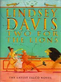 Book Cover, Two for the Lions