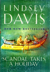 Book Cover, Scandal takes a holiday