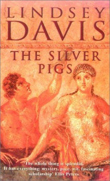 Book Cover, The Silver Pigs
