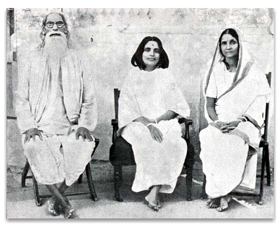 Anandamayi Ma with her parents