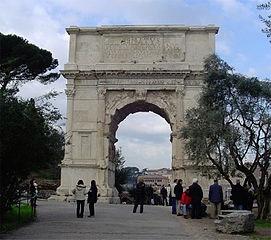 Arch of Titus Flavius Caesar, Rome