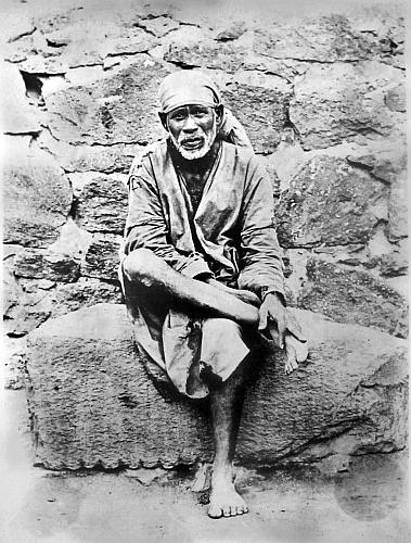Portrait of Shirdi Sai Baba
