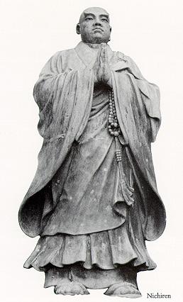 Statue of Nichiren