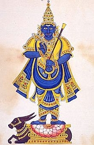 Yamraj - the God of Death; the God of following Dharma