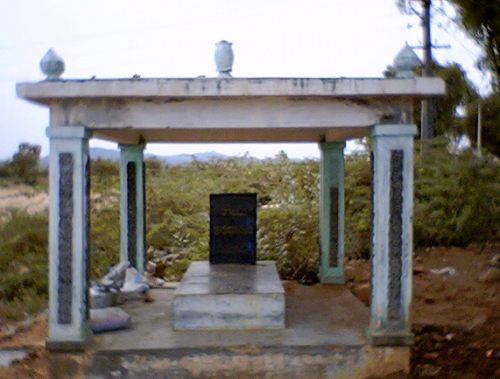 Samadhi (grave) of Swami Karunyananda