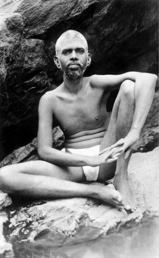 photo of Ramana Maharshi at young age