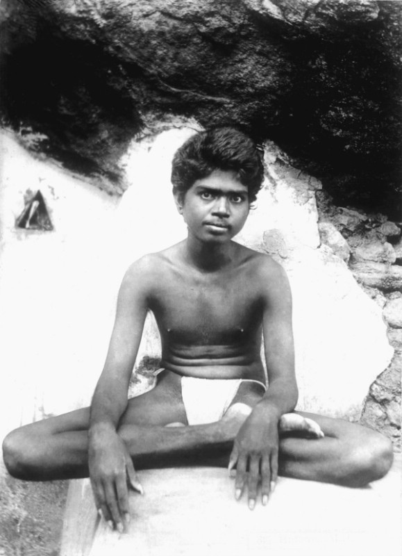 Ramana Maharshi as a youth