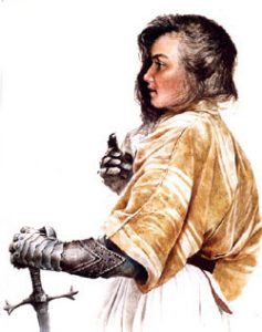 Joan of Arc,  Maid of Orleans
