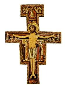 Cross that spoke to Francis