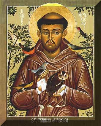 St Francis with the Birds
