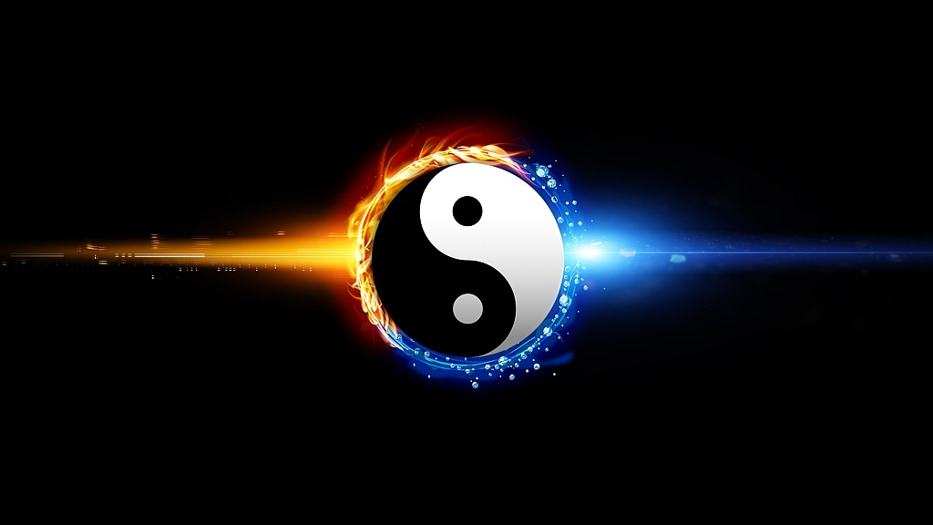 Balance - light and dark, fire and ice, the Oneness