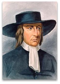 Painting of George Fox