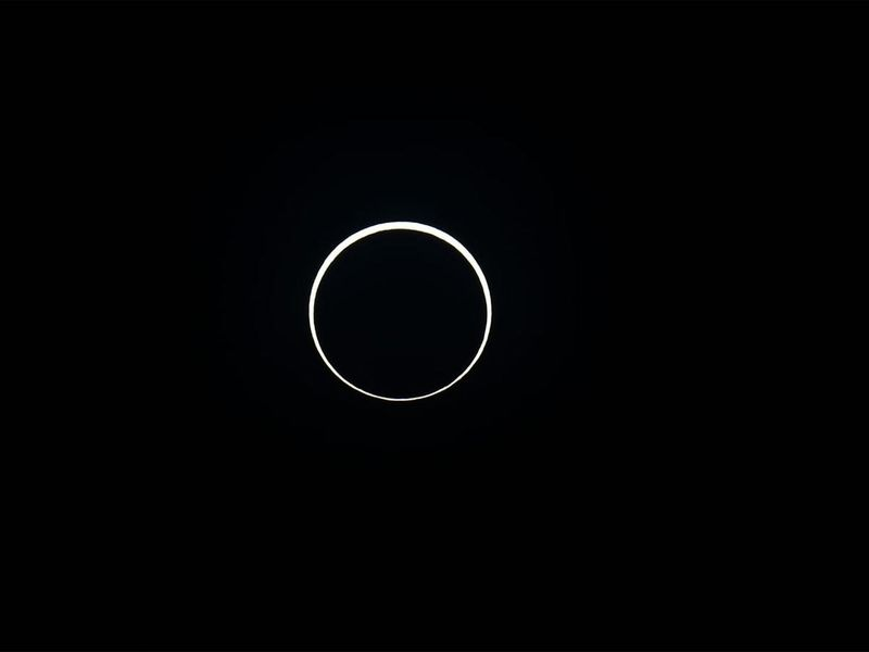 Last solar eclipse of 2019, viewed from Liwa, South India.