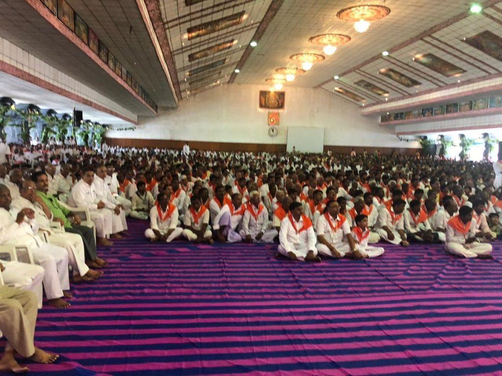 The Poornachandra Hall, where the great celebration of Maha Shivarathri was held ...