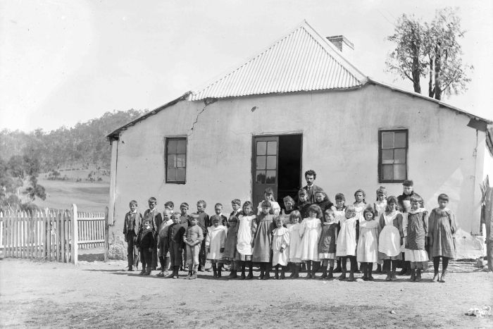 One Teacher School in Tasmania