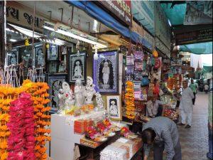 Stall with idols Virpur