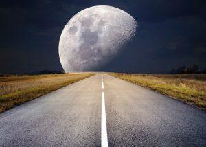 Full Moon at time of novel Coronavirus