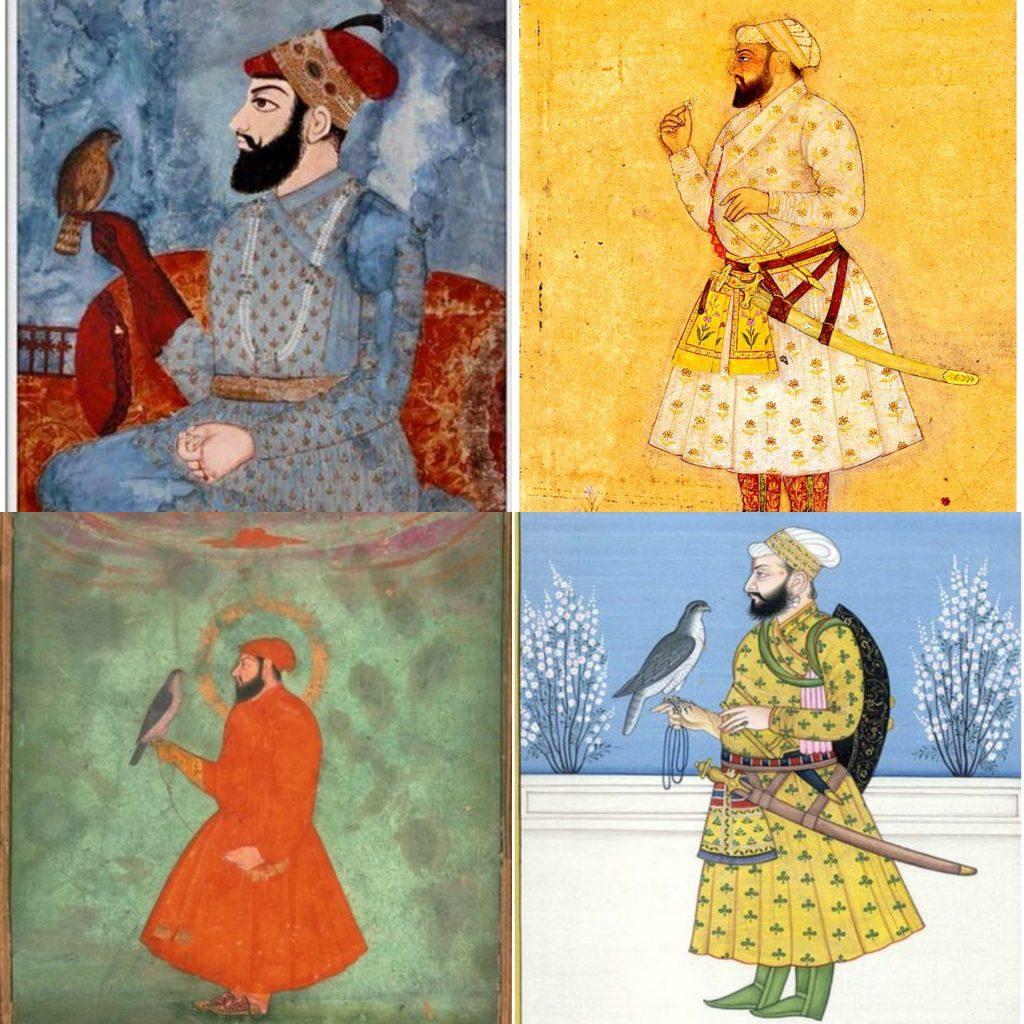 Classical depictions of Guru Tegh Bahadur, the 9th Sikh Guru