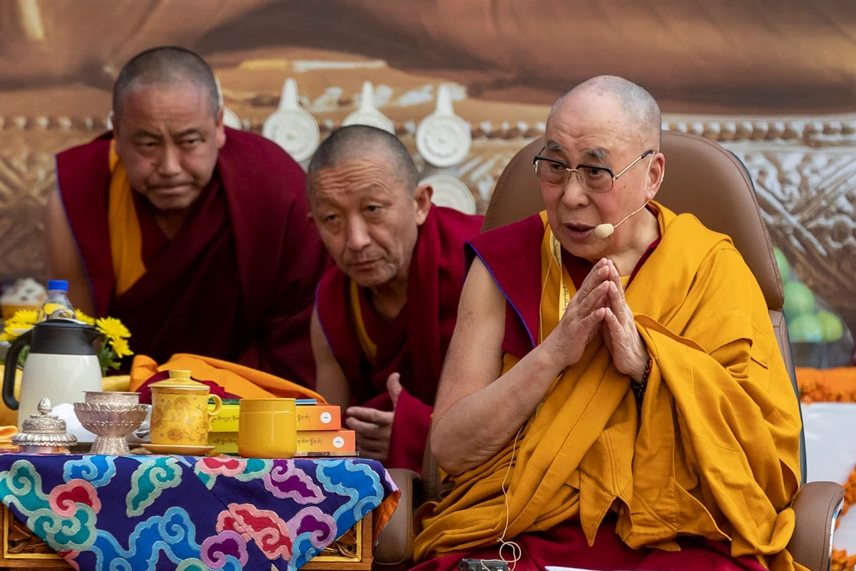 The 14th Dalai Lama is the spiritual leader of Tibetan Buddhism.