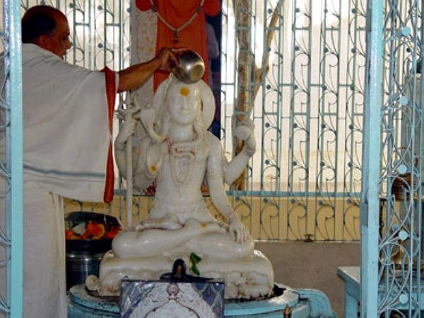 Shiva Temple at the Birthplace of Sri Sathya Sai