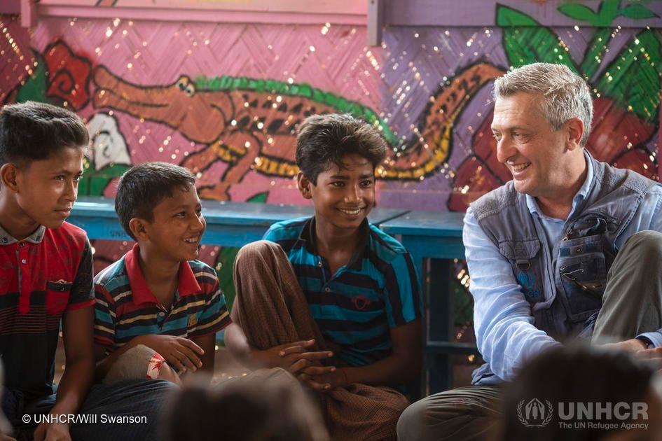 UNHCR agency work