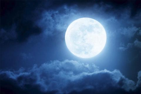 Full Moon October 2020