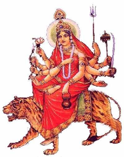 Goddess Chandraganta