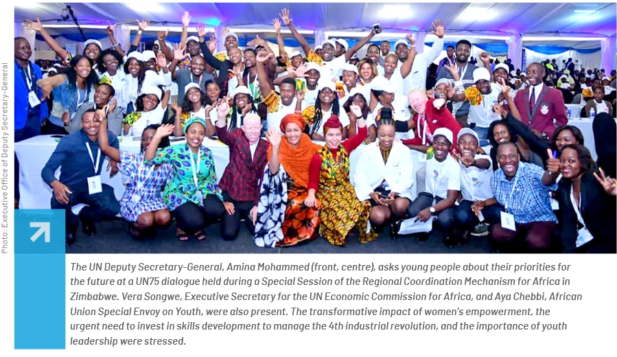 UN and Youth Consultation in Africa