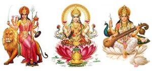 Durga Lakshmi Saraswati