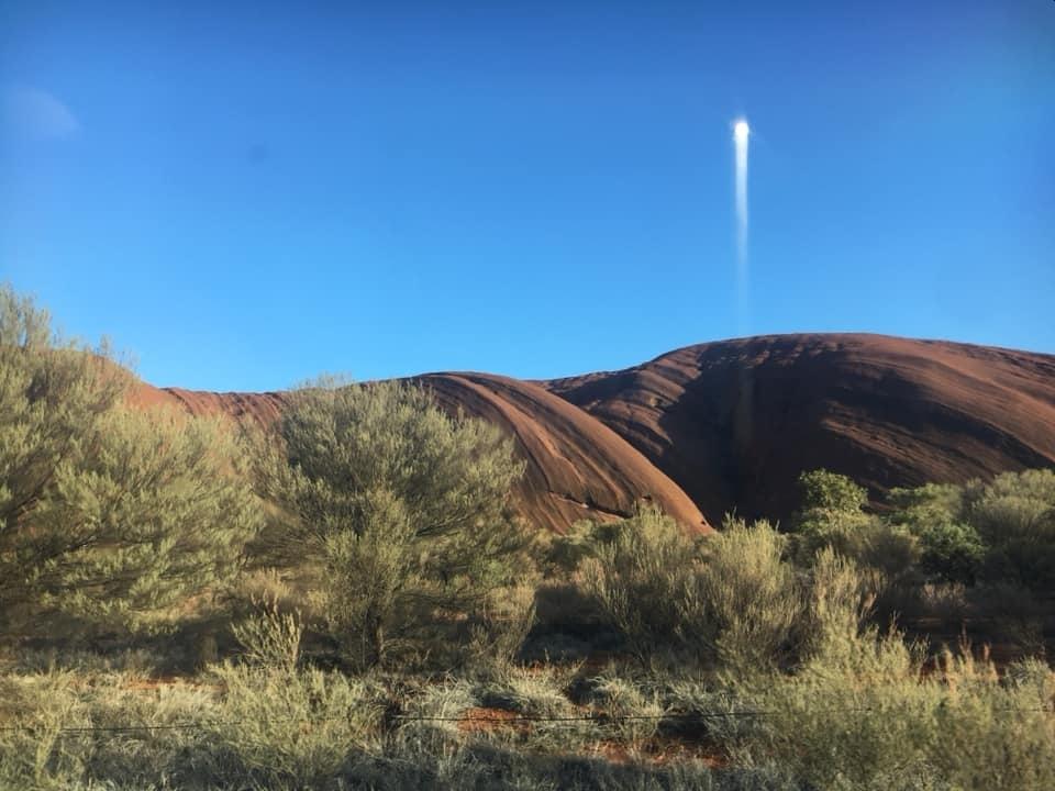 Sunrise at Uluru 21 December 2020