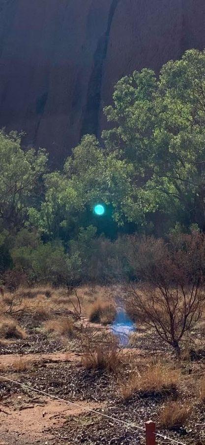Orb at Uluru 21 December 2020