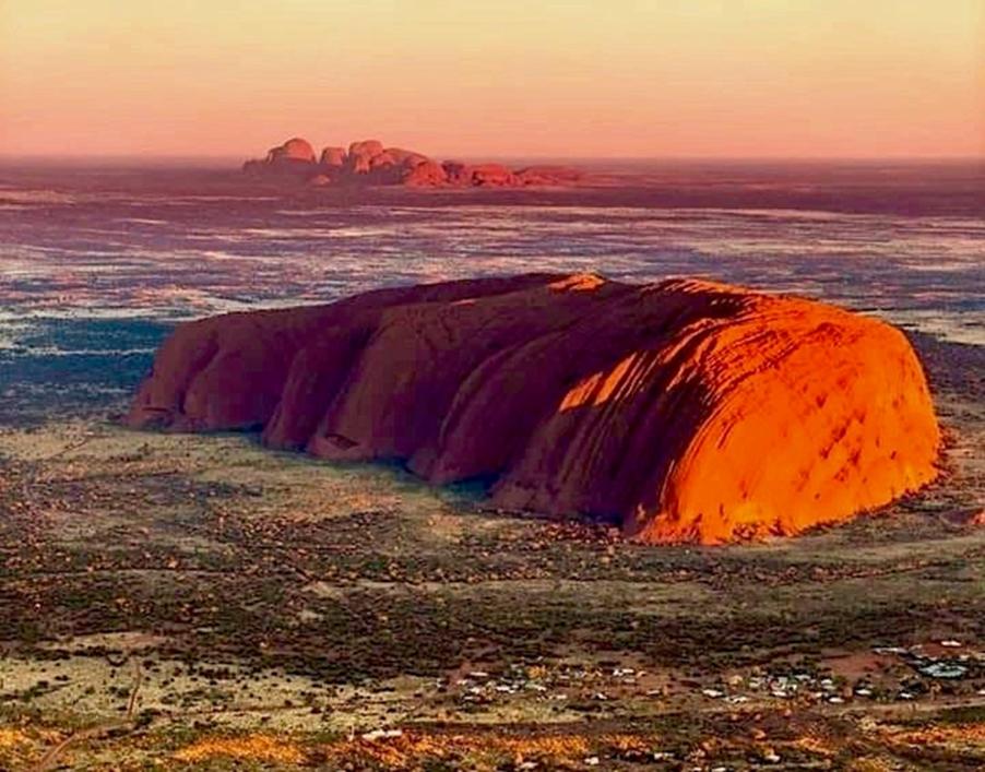 Uluru and Kata Tjuta - Solar Plexus Chakra
