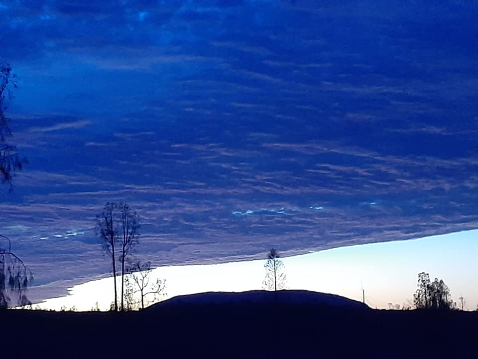 Sunrise at Uluru.