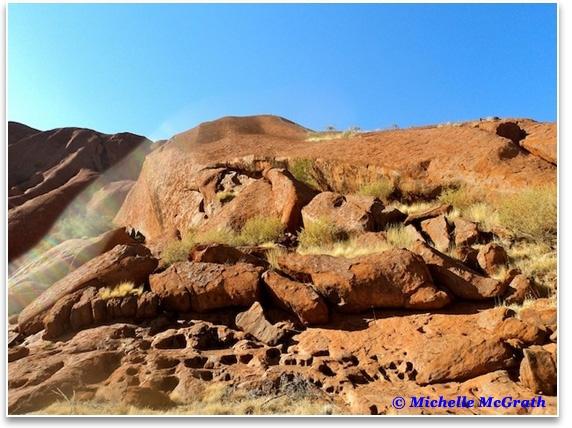 Rainbow Serpent at Uluru