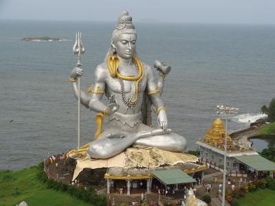 Lord Shiva Temple at Cape Comoram