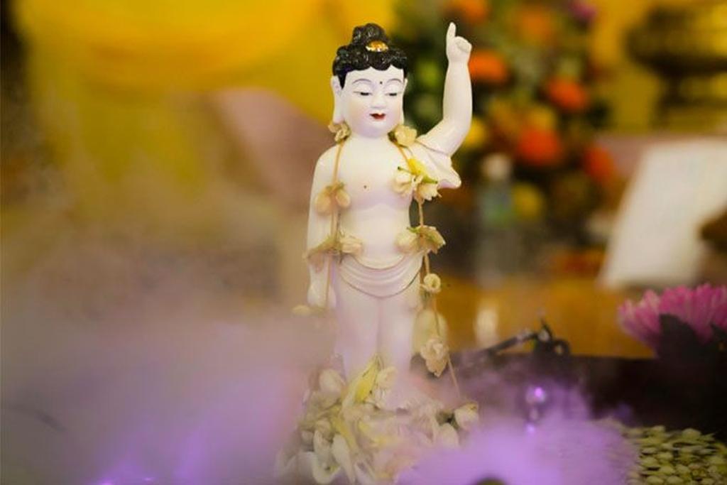 Buddha youth idol