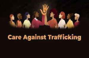 Care against human trafficking